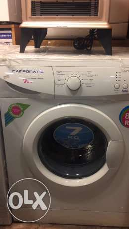campomatic washing 7 kg NEW