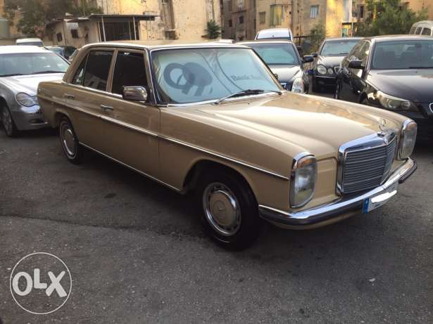 1974 mercedes 200 full swizerland