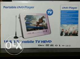 "9.5"" portable stand DVD Player/TV"