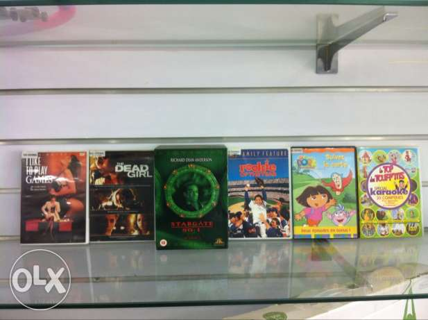 A Collection Of Original DVDs At Very Low Price