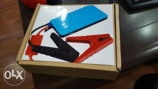 Powerbank 8000mAh with car jump starter