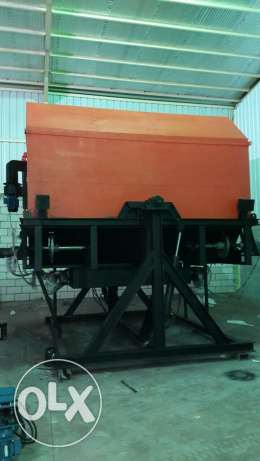 Machine for water tanks