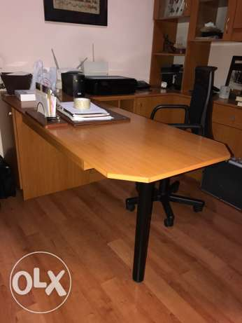 office Desk,chair,cabinet,closet