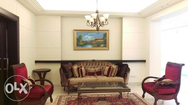 luxurious furnished apartment for rent in ras beirut
