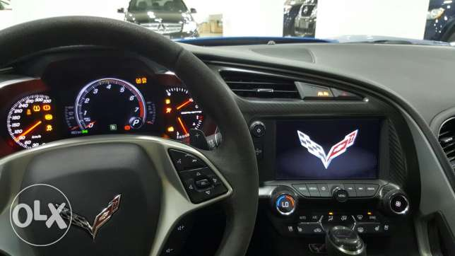 Corvette C7 Stingray 3LT 2015 مصطبة -  6