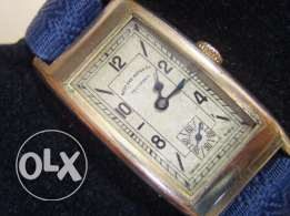 "Antique 1920's Swiss ""West End Watch"" Curvex watch gold filled case"