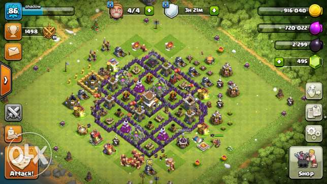 clash of clans town hall 8 talk to me om whats up for photos
