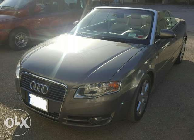 Audi A4 2007 Convertible for sale like new/ super clean