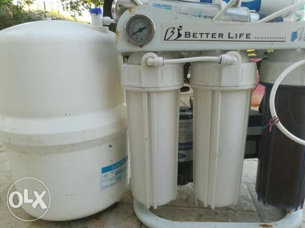 Better life water filter made in usa