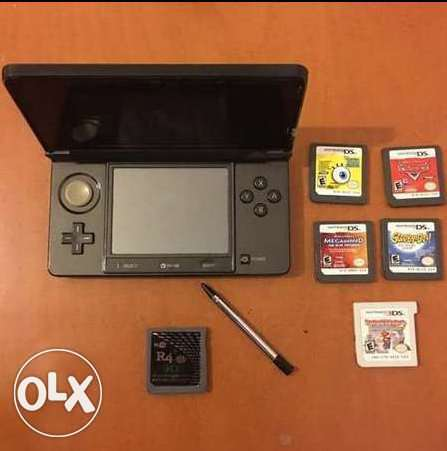 nintendo 3ds with more than 33 games