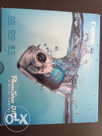 canon power shot d10 waterproof camera new