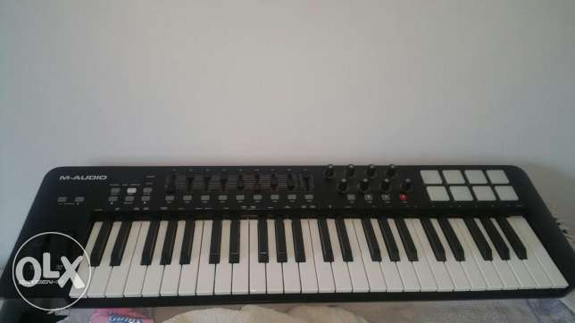 M Audio oxygen 49 USB Keyboard piano