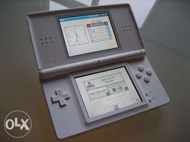 nintendo ds lite + power