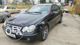 Benz CLK 200 Komprosser Model 2004 Black