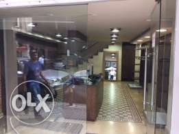 Shop for Rent in Hamra facing AUB