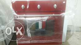 Oven campomatic 60cm red