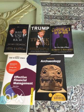 business books and archaeology book for sale راس  بيروت -  1