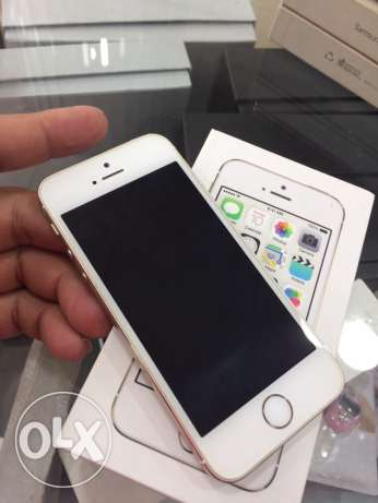 iphone 5S GOLD box and accessories
