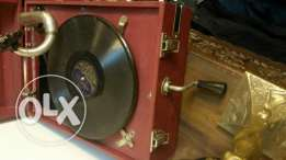 phonograph portable made from British