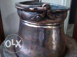 Antique, heavy copper 150-200 years old, cleaned, 65$ negotiable