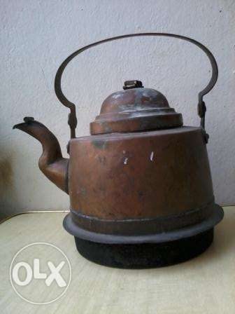 Antique Teapot, heavy red copper, more than 70 years old, 30$