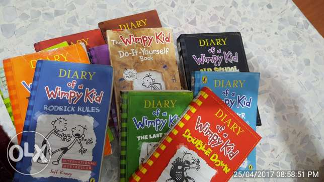 Diary of wimpy kid collection 12 books