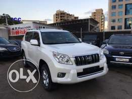 Toyota Prado TXL 2011 White Top of the Line in Excellent Condition!