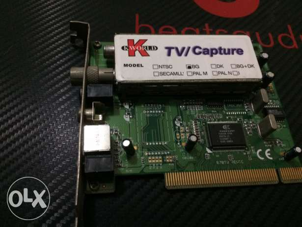TV card (TV on PC )