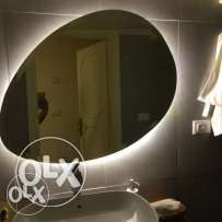 Belgian Mirror with LED Light