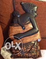 Decorative wood africans