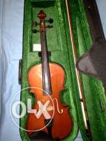 Fitness violin + bow+ rosin + new case