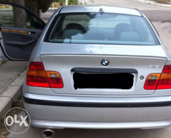 bmw 318, 2.0 mod 2003 excellent condition 8000$ negotiable price