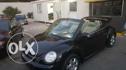 Beetle 2004 cabriolet full options leather interior super clean
