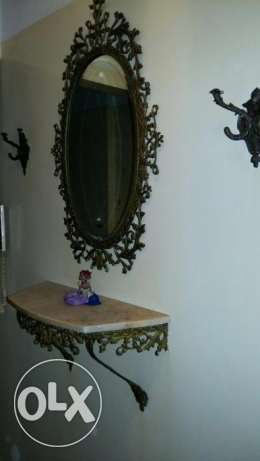Antique furniture and chandelier for sale