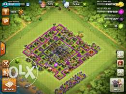 clash of clans town hall 9 base in 300$