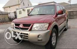 For sale: Mitsubishi montero