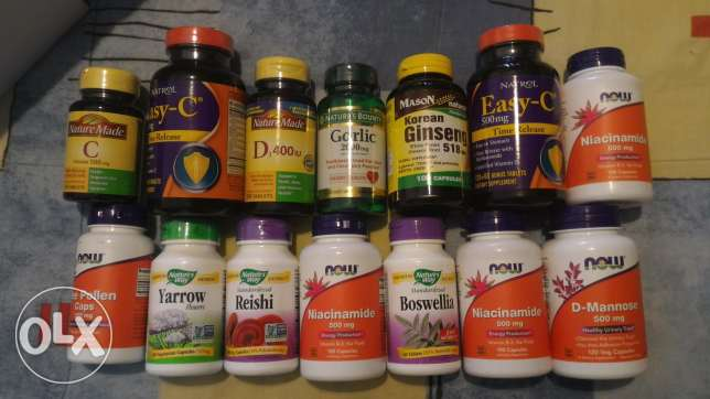 14 of the most essential supplements - Made in USA - sealed - retail v