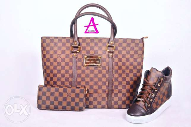 bag shoes and wallet فؤاد شهاب -  1