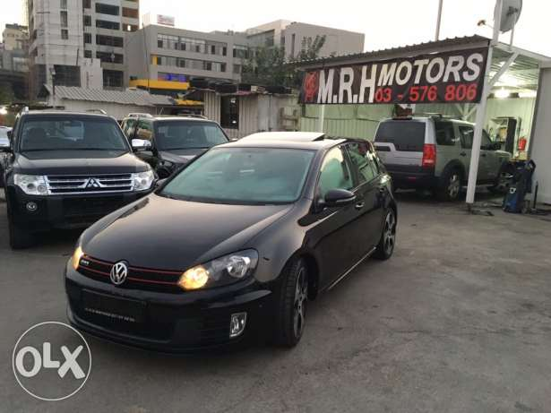 VW Golf VI GTI 2012 Black Fully Loaded in Excellent Condition! بوشرية -  6