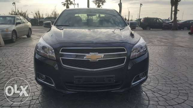 Chevrolet Malibu مصدر الشركه M.2013/New Look Black Super clean...