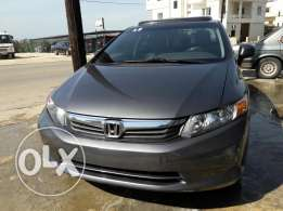honda CIVIC EX 2012 ajnabiye navigation 1.8L 4 cyl full option