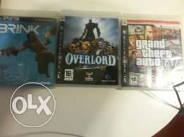 Great ps3 games fo 40 $ each