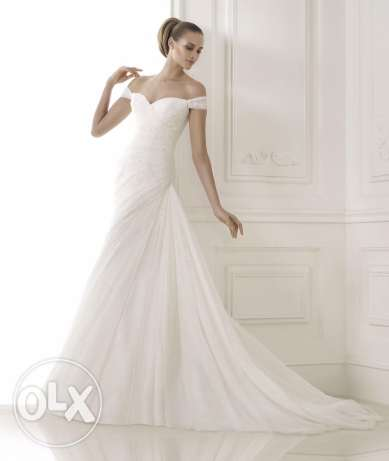 Wedding dress, used once For sale بيت الشعار -  1