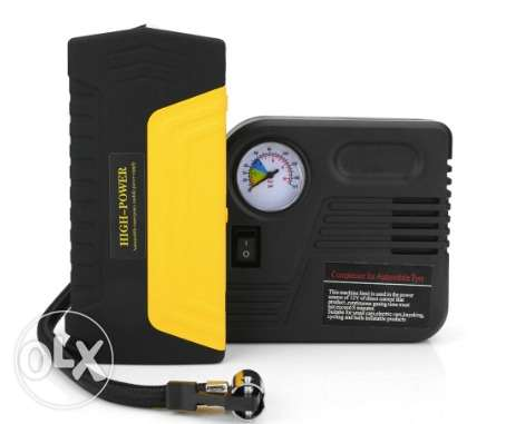 10 Jump starter _ power bank with pump