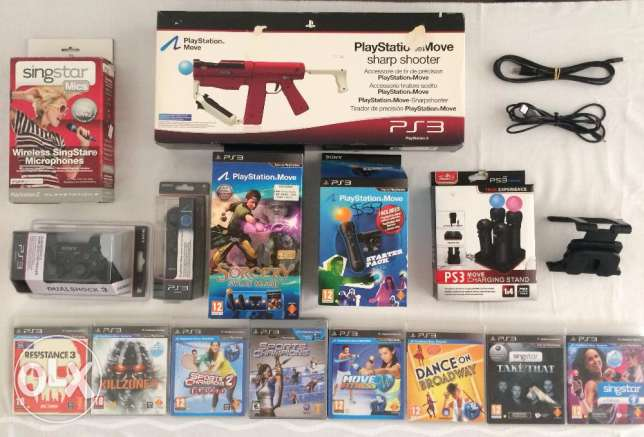 PlayStation 3 (PS3) Gaming Accessories
