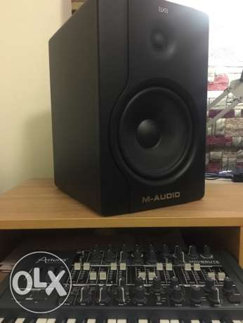 M-audio studio monitors Bx8 D2