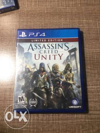Assasin's Creed unity for sale .ps4 جبيل -  1