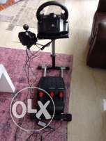 Logitech G27 + wheel stand pro (barely used)