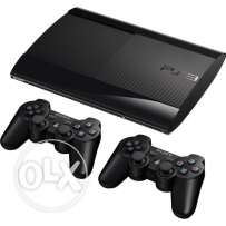 Ps3 500gb superslim 2controllers free hdmicable 2cd 350$ Verygoodprice