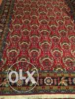 Big size Iranian handmade antique rug